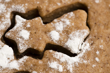 Christmas baking - gingerbreads