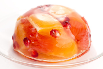 jelly sweets with citrus fruits