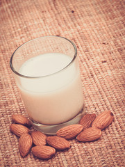 Almond Milk with Nuts