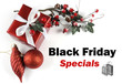 Black Friday Sale promotional message