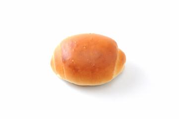 ロールパン バターロール クローズアップ 白背景