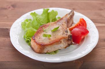 Fried pork cutlet