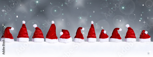 canvas print picture Background for christmas with mitre