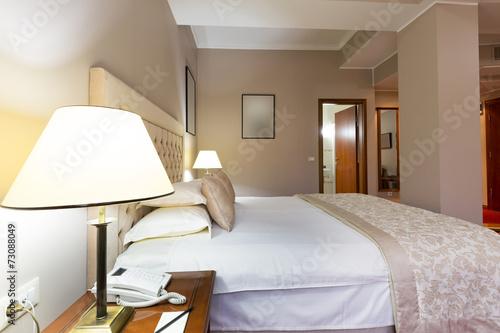 Leinwandbild Motiv Bedroom interior