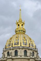 Dome of Musée de l'Armée, Les Invalides, Paris, France