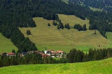 Berge Alpen Bayern wald