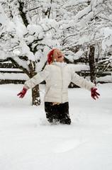 Juhuu es schneit!
