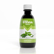 canvas print picture - 3D Stevia Extract bottle isolated on white