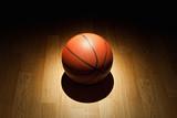 Fototapeta Basketball on court