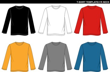 T SHIRT LONG SLEEVE R-NECK