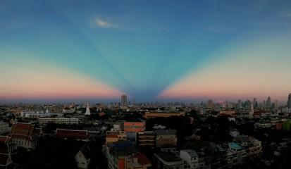 sunet pastel sky