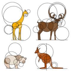 Planche d'animaux 3