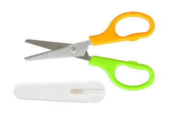 Child Scissors with Safety Sheath