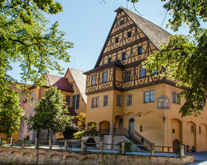 Altstadt fachwerk häuser stadt