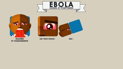 EBOLA - signs and symptoms - French