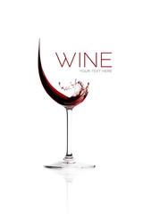 Red Wine. Splash Design