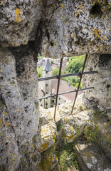 Blick vom Burgfried.