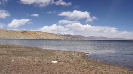 Manasarovar lake (Mapam Yumco). Tibet.