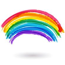 Résumé fond coloré aquarelle arc en ciel. Vector illustra