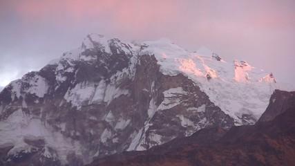 View of Himalayas Mountains. Nepal.
