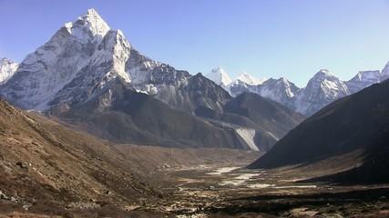 Cumbi Valley in the Himalayas. Tibet.