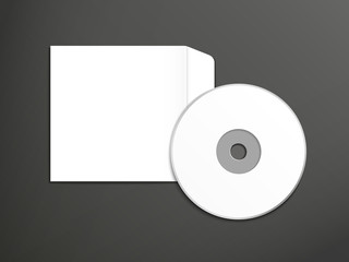 blank dvd and envelope template