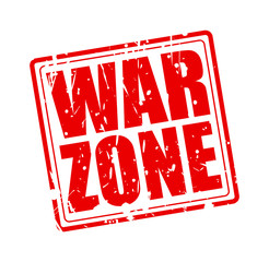 War zone red stamp text