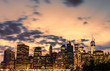 Night views of New York City