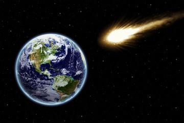 Meteoriten Gefahr