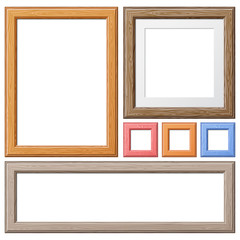Collect Wooden Frames