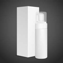 blank cosmetics package