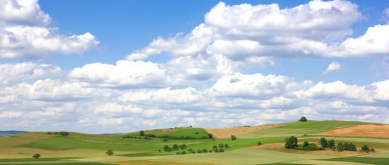 Landschaft im Hegau, Deutschland