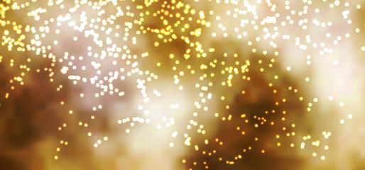 abstrakter Hintergrund, glühen, funkeln, Glut, Goldregen, BG