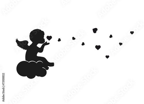 Engel auf einer Wolke - 73100832
