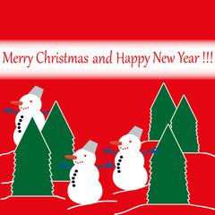 открытка Рождество