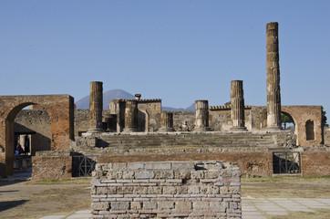 Ancient ruins of Pompei (Naples, Italy)