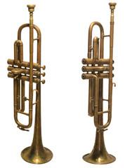 alte antike  trompete
