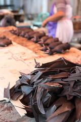 Bat meat on sell in market