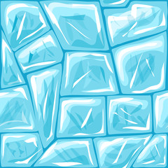 Ice seamless pattern
