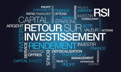 Retour sur investissement RSI rentabilité capital rendement