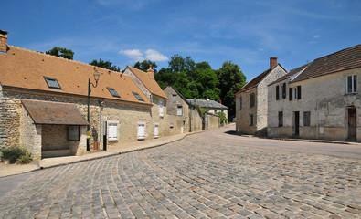 France, the picturesque village of Montreuil sur Epte