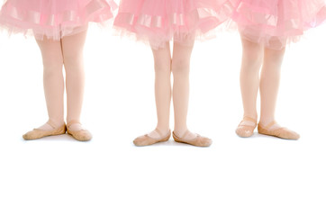 Tiny Tots Ballet Legs in Pink Tutu