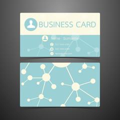 Business Cards atom design. Vector illustration