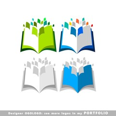education, illustrations, learning, book, vector, icons