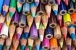canvas print picture - Buntstifte