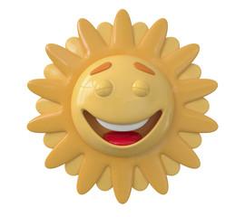 The 3D Sun laughs