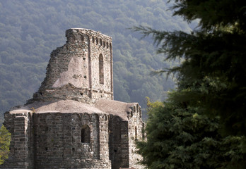 Beautiful ancient old ruin