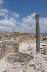 Руины античного Куриона. Кипр