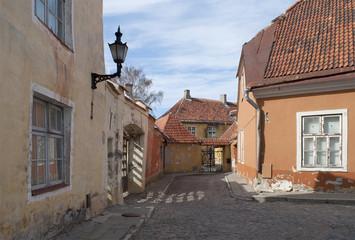 На улице Тоом-Кооли. Старый Таллин