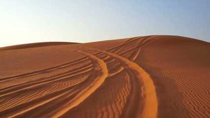 dubai, sand dunes, desert, arabian desert